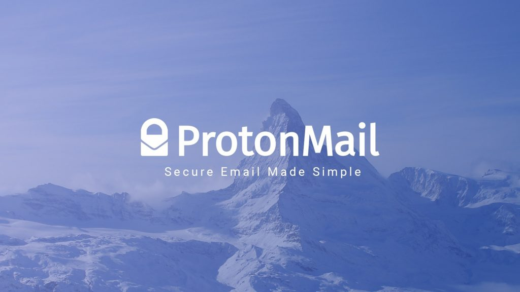 protonmail encrypted email service
